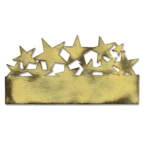 Tim Holtz Sizzix Die STAR CLUSTER On The Edge 658761 Preview Image
