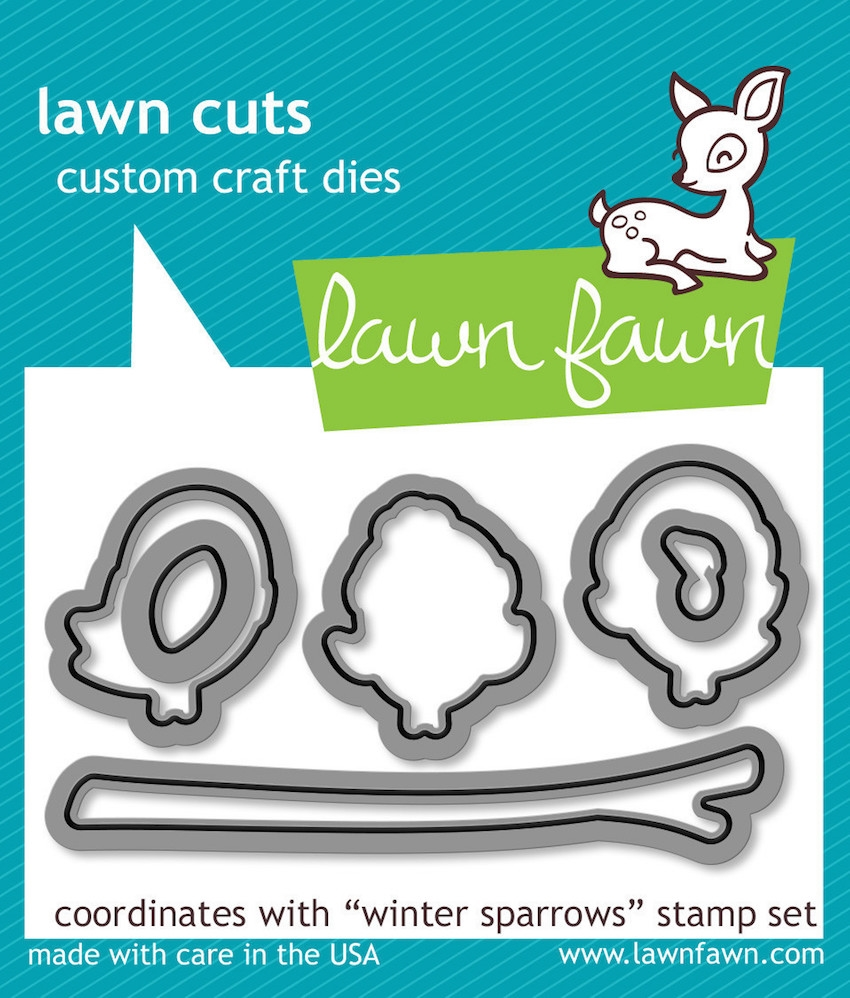 Lawn Fawn WINTER SPARROWS Lawn Cuts Dies LF573 zoom image
