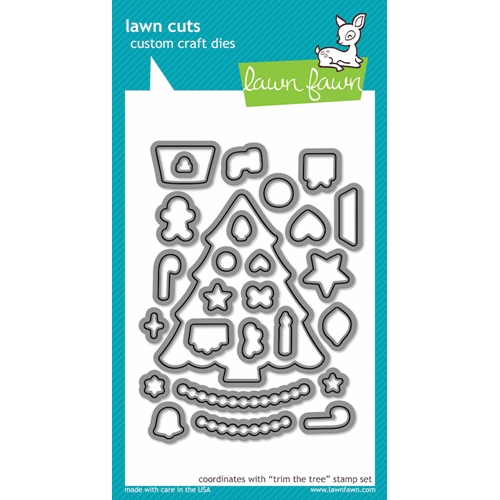Lawn Fawn TRIM THE TREE Lawn Cuts Dies LF574 Preview Image