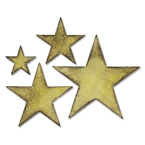 Tim Holtz Sizzix Die STACKED STARS Bigz 658771 Preview Image