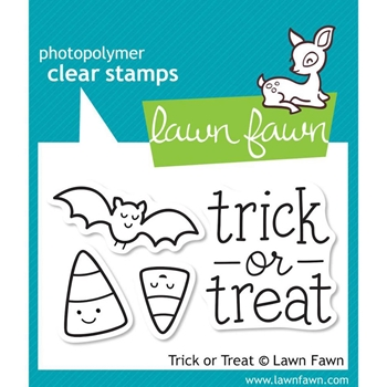 Lawn Fawn TRICK OR TREAT Clear Stamps LF554