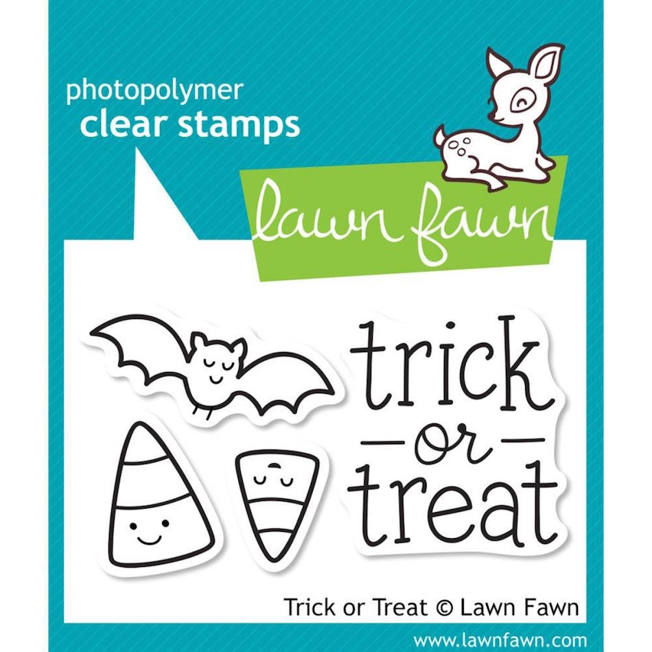 Lawn Fawn TRICK OR TREAT Clear Stamps LF554 zoom image