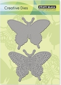 Penny Black DELICATE WINGS Thin Metal Creative Dies 51-010 Preview Image