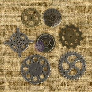 Prima Marketing GEARS Mechanicals Metal Embellishments 961053 zoom image