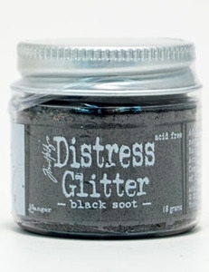 Tim Holtz Distress Glitter BLACK SOOT Ranger TDG39129 Preview Image