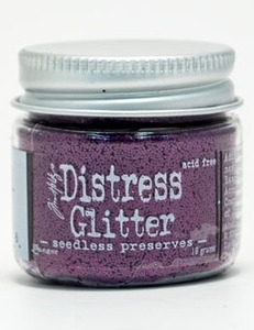 Tim Holtz Distress Glitter SEEDLESS PRESERVES Ranger TDG39266