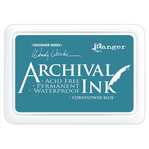 Ranger Wendy Vecchi Archival CORNFLOWER BLUE Ink Pad AID38955 Preview Image