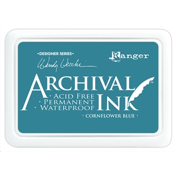 Ranger Wendy Vecchi Archival CORNFLOWER BLUE Ink Pad AID38955