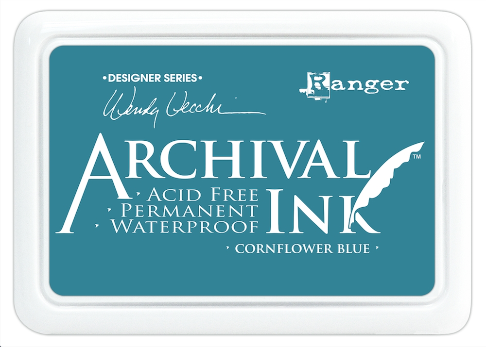 Ranger Wendy Vecchi Archival CORNFLOWER BLUE Ink Pad AID38955 zoom image