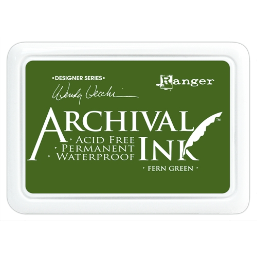 Ranger Wendy Vecchi Archival FERN GREEN Ink Pad AID38962 Preview Image