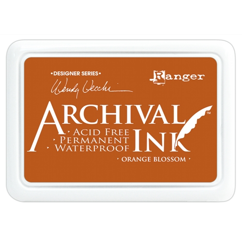 Ranger Wendy Vecchi Archival ORANGE BLOSSOM Ink Pad AID38986 Preview Image