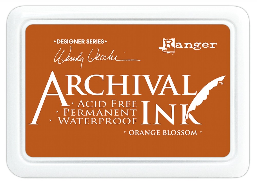 Ranger Wendy Vecchi Archival ORANGE BLOSSOM Ink Pad AID38986 zoom image