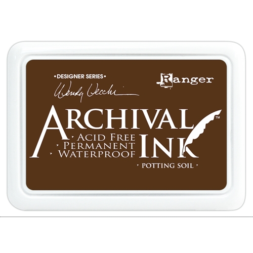 Ranger Wendy Vecchi Archival Ink - Potting Soil