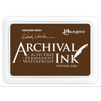 Ranger Wendy Vecchi Archival POTTING SOIL Ink Pad AID38979