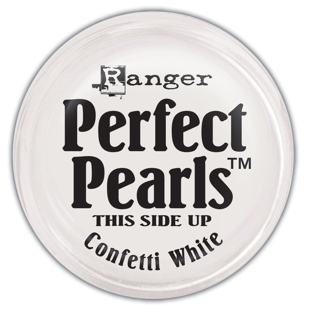 Ranger Perfect Pearls CONFETTI WHITE Individual Pigment Powder PPP36807 zoom image