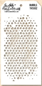 Tim Holtz Layering Stencil BUBBLE THS002 zoom image