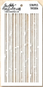 Tim Holtz Layering Stencil STRIPES THS004 Preview Image