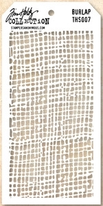 Tim Holtz Layering Stencil BURLAP THS007 Preview Image