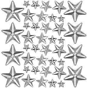 Tim Holtz Idea-ology MIRRORED STARS TH93083 zoom image