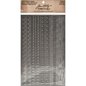 Tim Holtz Idea-ology BORDERS Industrious Stickers TH93091