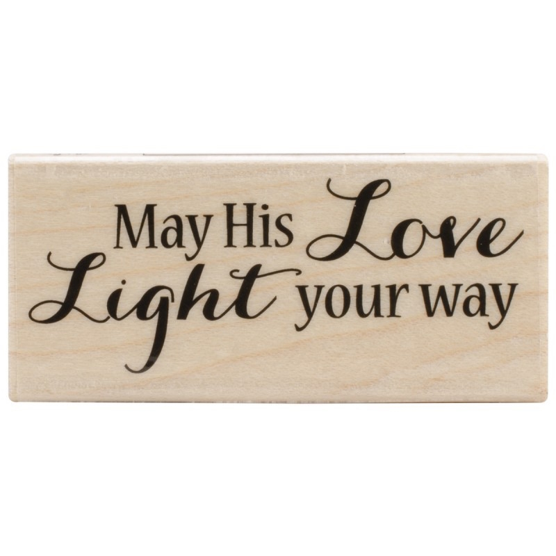 Hero Arts Rubber Stamp LIGHT YOUR WAY d5813 zoom image