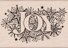 Hero Arts Rubber Stamp JOY BURST k5852 Preview Image