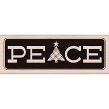 Hero Arts Rubber Stamp PEACE WITH TREE g5827*