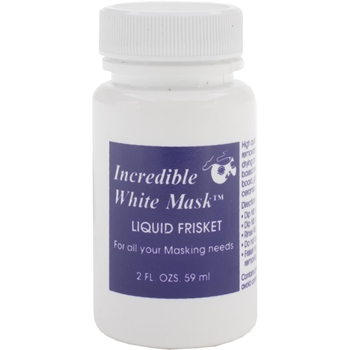 Grafix INCREDIBLE WHITE MASK 2oz. Liquid Frisket 12692