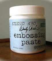 Wendy Vecchi Embossing Paste TRANSLUCENT Studio 490 WVPASTETRN