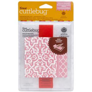 Cuttlebug A2 Embossing Folders ELABORATE QUATREFOIL Provo Craft Anna Griffin