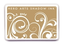 Hero Arts Shadow Ink Pad GOLD AF258