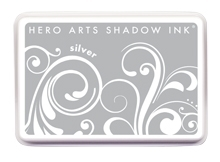 Hero Arts Shadow Ink Pad SILVER af257 zoom image