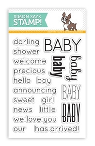Simon Says Clear Stamps BABY SSS101345