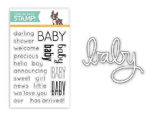 Simon Says DIE & STAMPS SET DARLING BABY SetDB23