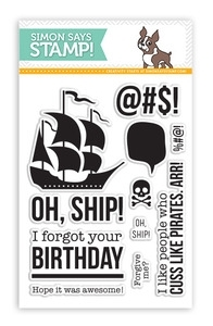 Simon Says Clear Stamps NAUGHTY NAUTICAL SSS101348