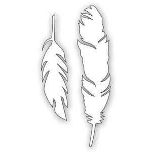 Simon Says Stamp FEATHERS Craft DIES S198 Preview Image