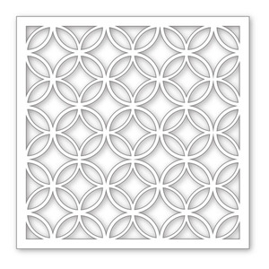 Simon Says Stamp Stencil DIAMOND CIRCLES SSST121303 Preview Image