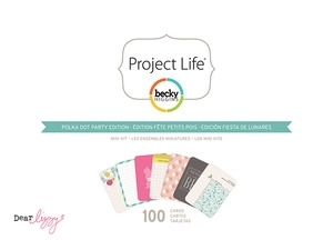 Becky Higgins American Crafts Project Life POLKA DOT PARTY Dear Lizzy Mini Kit*