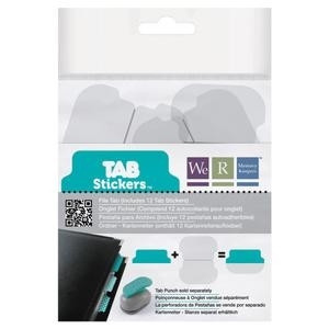 We R Memory Keepers FILE Tab Punch Stickers 42377-5 Preview Image