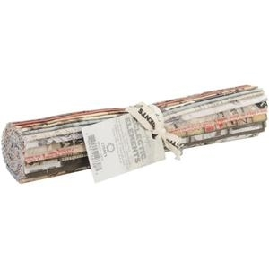 Tim Holtz Fabric Eclectic Elements 14738 CHARM PACK 24PC 10x10