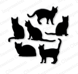 Impression Obsession Steel Dies CAT SET DIE083-K