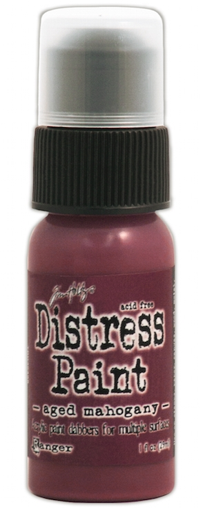 Tim Holtz Distress Paint AGED MAHOGANY Ranger TDD38498 zoom image