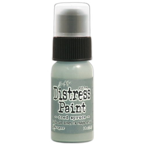 Tim Holtz Distress Paint ICED SPRUCE Ranger TDD38559 Preview Image