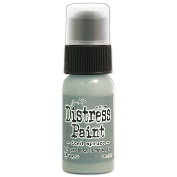 Tim Holtz Distress Paint ICED SPRUCE Ranger TDD38559