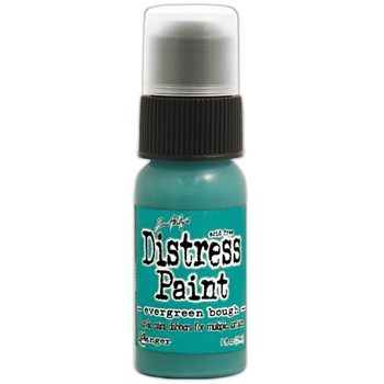 Tim Holtz Distress Paint EVERGREEN BOUGH Ranger TDD38528