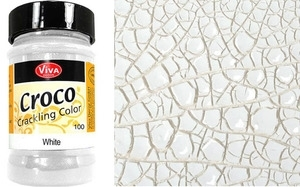Viva Decor WHITE CRACKLE PAINT Texture 100 zoom image