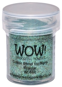 WOW Embossing Powder VERDIGRIS