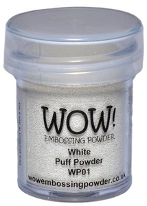 WOW Embossing Powder WHITE PUFF Regular WP01 zoom image