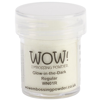 WOW Embossing Powder GLOW IN THE DARK Regular WN01R