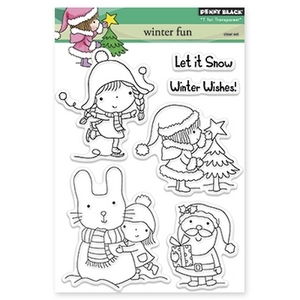 Penny Black Clear Stamps WINTER FUN 30-189 zoom image